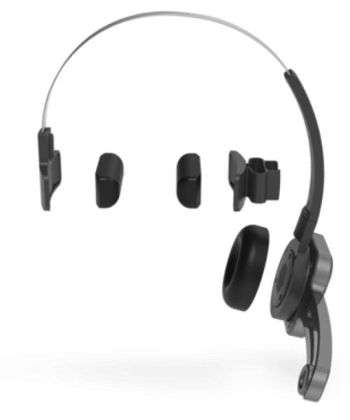 SpeechOne - The revolutionary Wireless Dictation Headset | Arelco